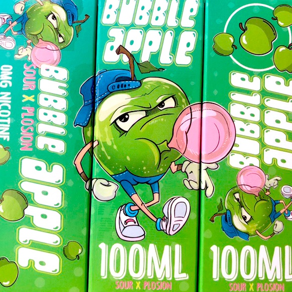 Жидкость Bubble Gum by Panda's 100ml Воронеж