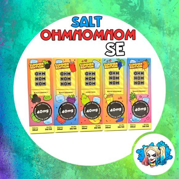 Ohm Nom Nom Summer Edition Salt 30ml купить в Воронеже