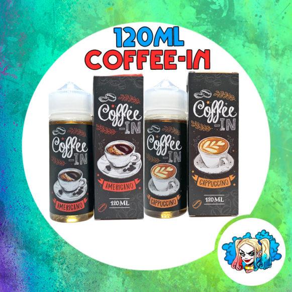 Coffee-In 120ml купить кофейную жидкость в Воронеже