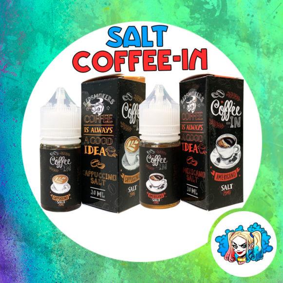 Coffee-In 30ml Salt купить жидкость в Воронеже