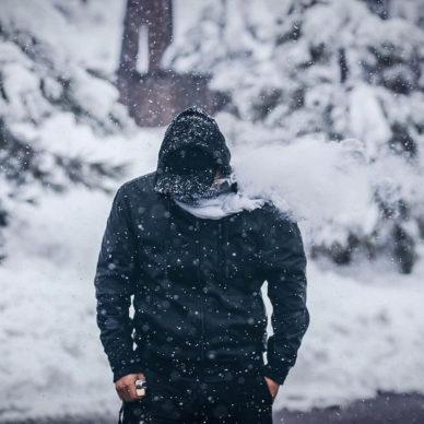 Как правильно парить зимой, в холод, в мороз