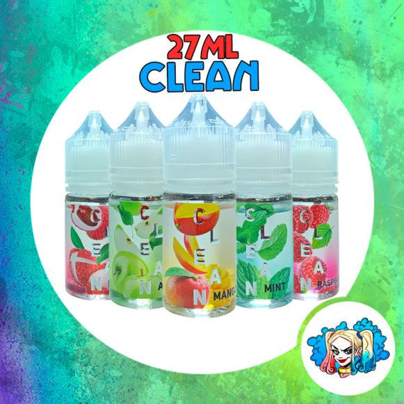 Clean 27ml купить жидкость без никотина для POD-Системы