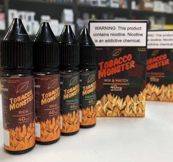 Tobacco Monster 2x15ml купить хорошую табачку в Воронеже