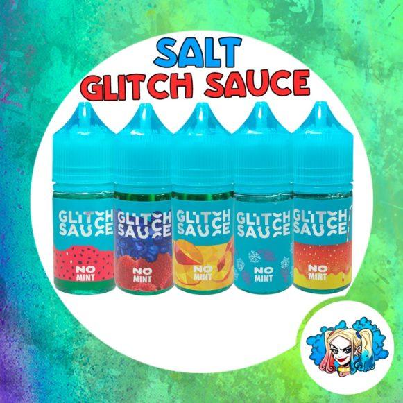 Glitch Sauce Salt 30ml no-mint купить жидкость в Воронеже