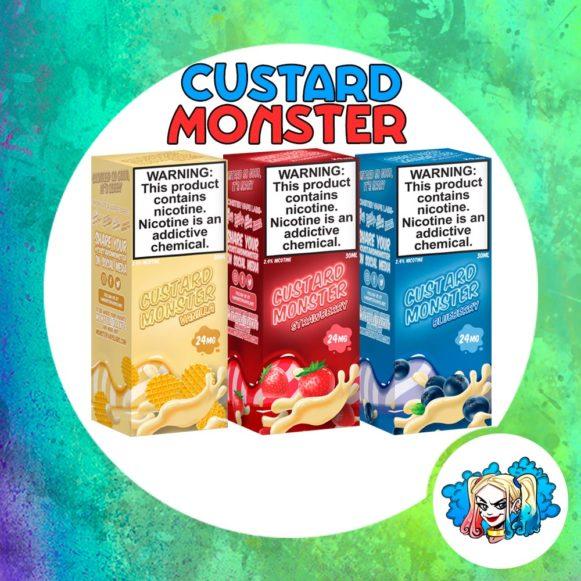 Custard Monster 30ml Salt купить жидкость в Воронеже